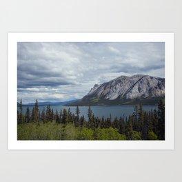 Tagish Lake Yukon Canada Art Print