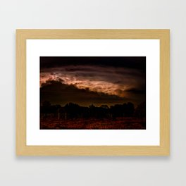 Storms of life Framed Art Print