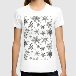 Snow Flakes T-shirt