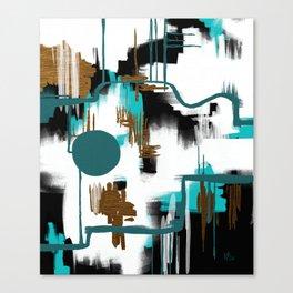 Deco Night Canvas Print