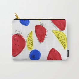 Mixed Fruit Carry-All Pouch