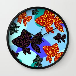 Aquarium 1 Wall Clock