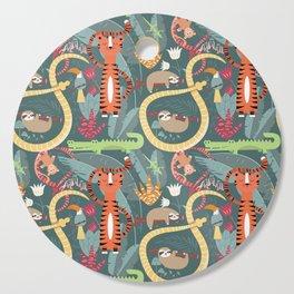 Rain forest animals 003 Cutting Board