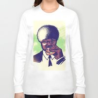 pulp Long Sleeve T-shirts featuring Pulp Fiction by ARTBYSKINGS