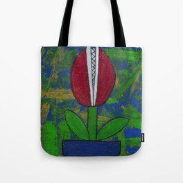 Bitey Blossom Tote Bag