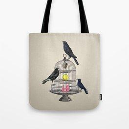 Keeper Crows Tote Bag