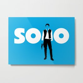 Han Solo Metal Print