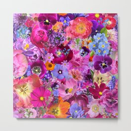 All my favorite flowers Metal Print