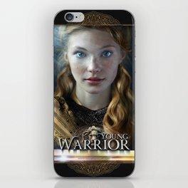 Young Warrior - David Munoz iPhone Skin
