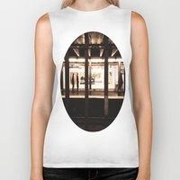 rush Biker Tanks featuring Rush Hour by Brown Eyed Lady