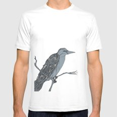 The Rook SMALL Mens Fitted Tee White