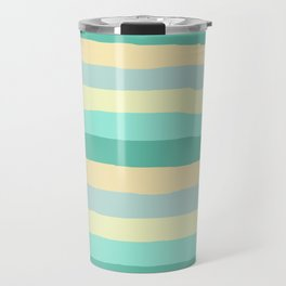 lumpy or bumpy lines abstract and summer colorful - QAB271 Travel Mug