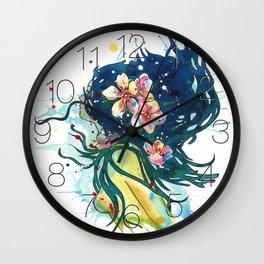 Beach Goddess Wall Clock