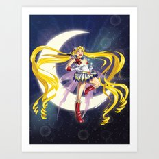 Sailor Moon! Art Print