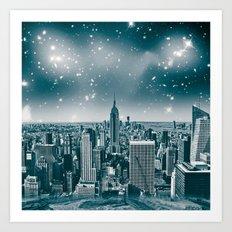 dreamcity2 Art Print