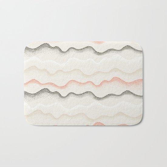 Retro Dotted Pattern 02 Bath Mat