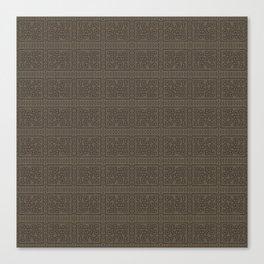Maya pattern 2  Canvas Print