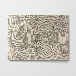 Hazey Metal Print