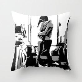 everyday romance Throw Pillow