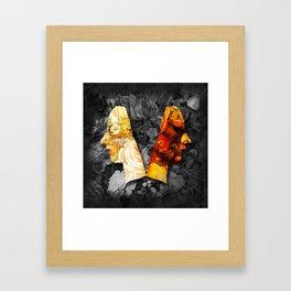 Light and Dark 3 Framed Art Print