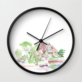 River House Wall Clock