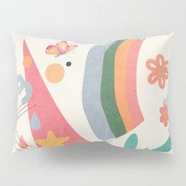 Abstract Summer 4 Pillow Sham
