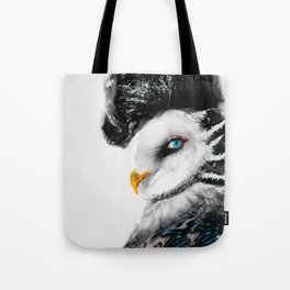 Tattooed Lady Owl Tote Bag