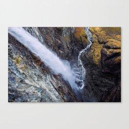 Above, Vettisfossen Canvas Print
