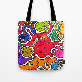 Jigsaw Germs Tote Bag