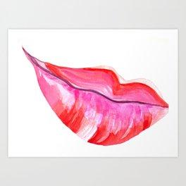 Kiss Me Again Art Print