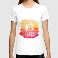 xbox T-shirts featuring Hello Summer by Text Guy