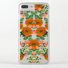 New Year Bloom Clear iPhone Case