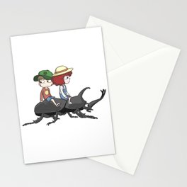 Beetle ride Stationery Cards