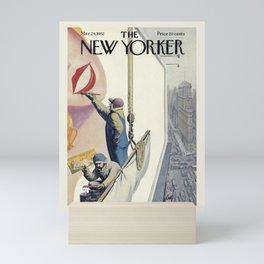 "Cover of "" The new Yorker"" magazine. Mar. 29 1952. Mini Art Print"