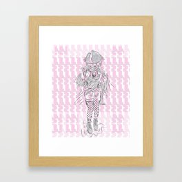Advancement Study #1 Framed Art Print