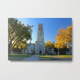 University if Toledo- University Hall Metal Print