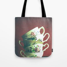Vintage Tea 2 Tote Bag