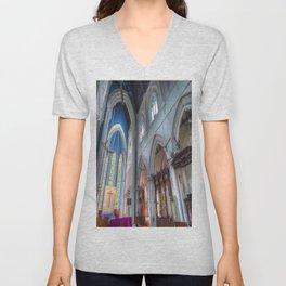 St Andrews Cathedral Singapore Unisex V-Neck