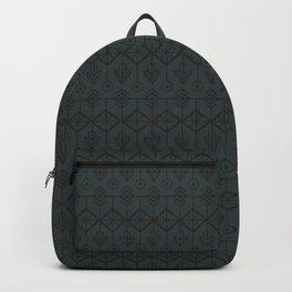 Navy Minimal Tribal Backpack