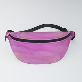 Gentle Reflections in Pastel Pinks Fanny Pack