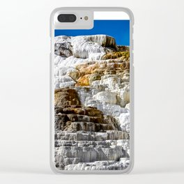 Yellowstone Salt Flat Clear iPhone Case