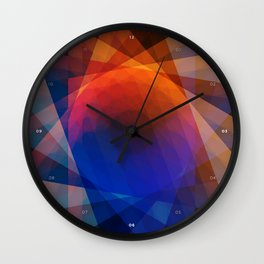 A Receptive Mind is Connected Wall Clock
