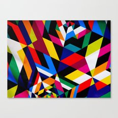 Colors and Design Canvas Print