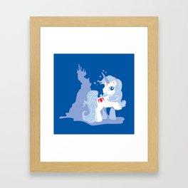 My Little Last Unicorn Framed Art Print