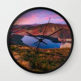 Ireland - Lough Tay(RR209) Wall Clock