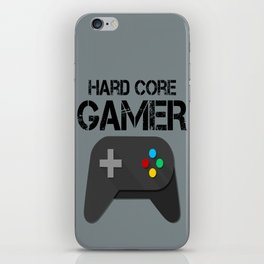 Game Console Black Joystick iPhone Skin