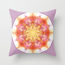 Mandalas for a New Earth 12 Throw Pillow