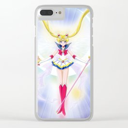 Super Sailor Saint Moon Clear iPhone Case