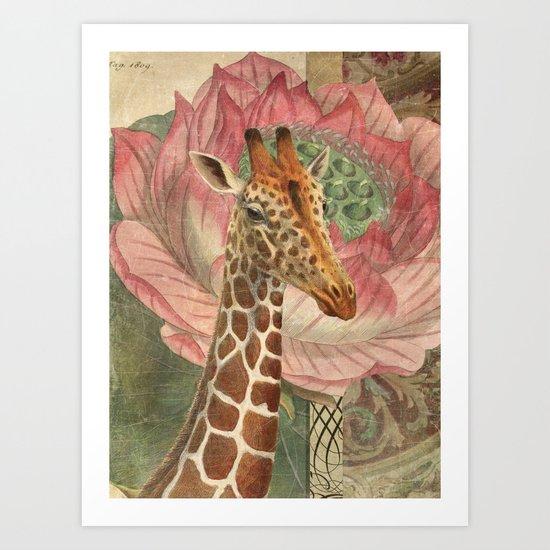 One Chuffed Giraffe by foxfires