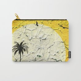 Vintage Summer Billboard Carry-All Pouch